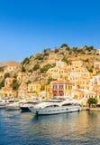 Symi Island. Greece Royalty Free Stock Photo
