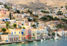 Symi Island. Greece Royalty Free Stock Images