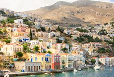 Symi Island. Greece Royalty Free Stock Photos