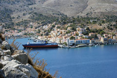 Symi island, Greece Royalty Free Stock Photo