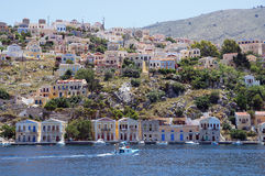 Symi island Stock Photo