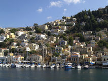 Symi island view, Greece Stock Photo