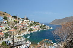 Symi La Grèce Photo stock