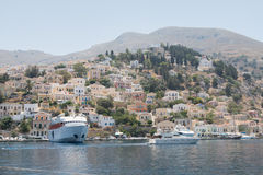 Symi / Simi Island Royalty Free Stock Photo