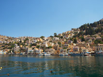 Symi town Royalty Free Stock Photo