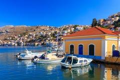 Symi Town Greece Royalty Free Stock Photo