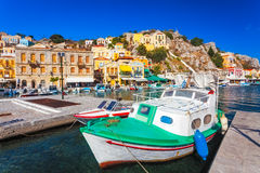 Symi Town Greece Stock Photography