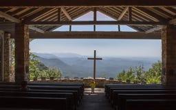 Symmes bergkapell Cedar Mountain Innocence South Carolina Royaltyfri Fotografi