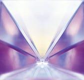 Symmetri av färger Arkivfoto