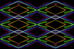 Symmetric abstract blurred futuristic  background Royalty Free Stock Image