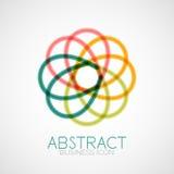 Symmetric abstract geometric shape Royalty Free Stock Image
