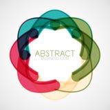 Symmetric abstract geometric shape Stock Image