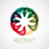 Symmetric abstract geometric shape Royalty Free Stock Images