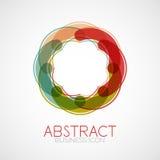 Symmetric abstract geometric shape Royalty Free Stock Photography