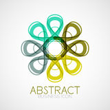 Symmetric abstract geometric shape Stock Image