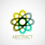 Symmetric abstract geometric shape Stock Photos