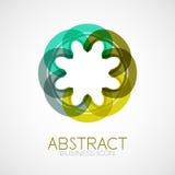 Symmetric abstract geometric shape Royalty Free Stock Photos