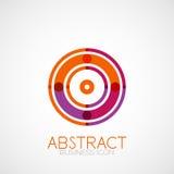 Symmetric abstract geometric shape Royalty Free Stock Photo