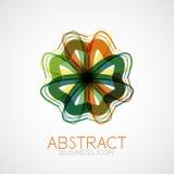 Symmetric abstract geometric shape Stock Photography