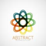 Symmetric abstract geometric shape Stock Photos