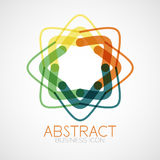 Symmetric abstract geometric shape Royalty Free Stock Photography