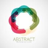 Symmetric abstract geometric shape Stock Photography