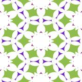 Symmetric abstract pattern or seamless mosaic Stock Photos