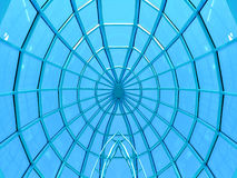Symmetric circular ceiling Stock Photos