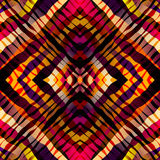 Symmetric exotic pattern, red strips Royalty Free Stock Photos