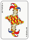 Symmetric Joker Royalty Free Stock Images