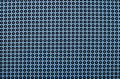 Symmetric okręgu wzór i kropki Fotografia Stock