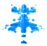 Symmetric paint blot Royalty Free Stock Photo