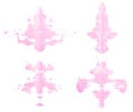 Symmetric paint blot Royalty Free Stock Photos