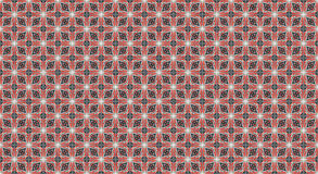 Symmetric red and black geometric shapes . Symmetric red and black squares. illustration abstract geometric shapes pattern Stock Photos