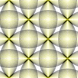 Symmetric retro pattern. Stock Photos