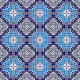 Symmetric seamless pattern Royalty Free Stock Images