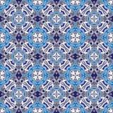 Symmetric seamless pattern Royalty Free Stock Photography