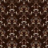 Baroque seamless pattern Royalty Free Stock Image