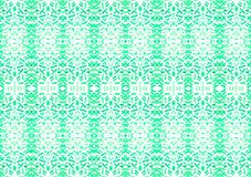 Symmetric seamless watercolor green stripes and figure pattern texture art hand painted on white background with copy space. Symmetric seamless watercolor green stock photos