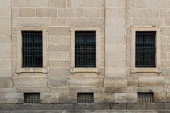 Symmetric windows Stock Photography