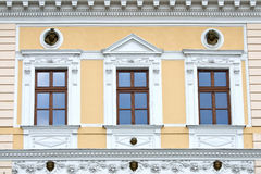 Symmetric windows Royalty Free Stock Images