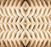 Symmetric Złociści liście zdjęcie royalty free