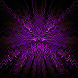 Symmetrical abstract design Royalty Free Stock Photography