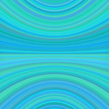 Symmetrical abstract dynamic background from thin curved lines - vector design Stock Image