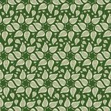 Symmetrical Abstract Leaf Stars royalty free illustration