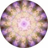Symmetrical Angelic Energy Meditation Mandala Stock Images