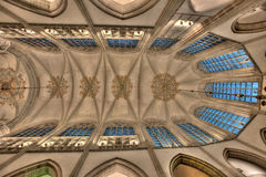Symmetrical ceiling Stock Image
