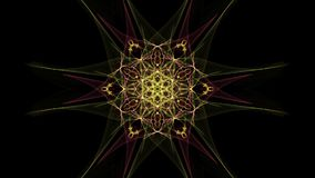 Symmetrical and colorful design. Digital graphic. Symmetrical and colorful design made by digital graphic. Silk symmetry series stock illustration