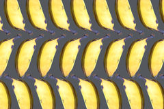 Symmetrical composition with bananas Stock Photography