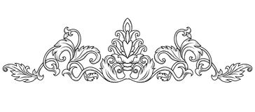 Symmetrical decorative ornament Stock Photo